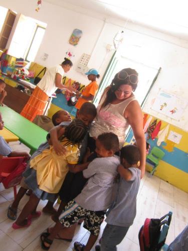Kaapverdie Bohalista Kinderen school