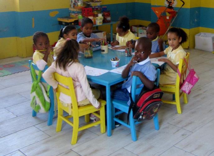 Kaapverdie Bohalista School Santa Maria