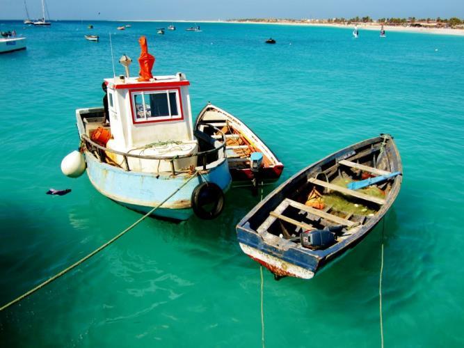 Kaapverdie Bohalista varen