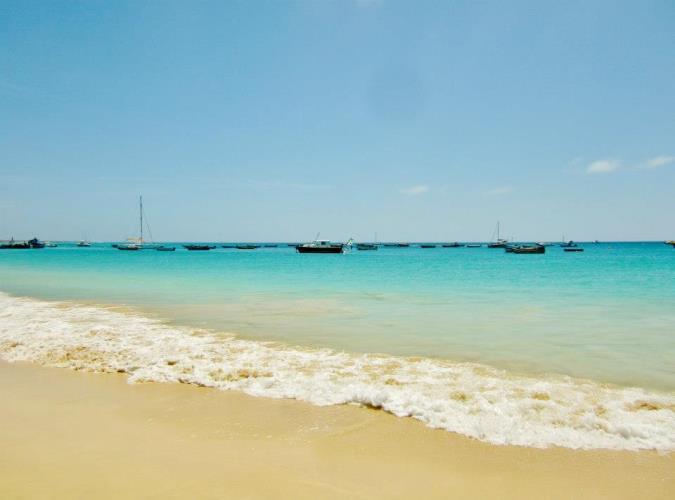 Kaapverdie Bohalista Beach Santa Maria