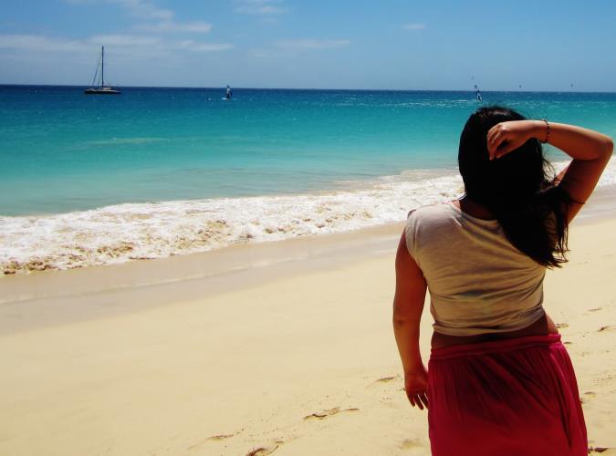 Kaapverdie Bohalista Beach