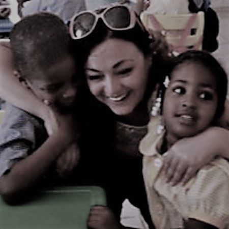 Afrika kinderen Bohalista Nena