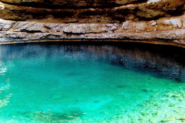 Bimmah Sinkhole: een bijzonder natuurverschijnsel in Oman